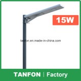 China de fábrica 6W-80W LED integrado Luz solar de la calle