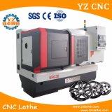 차 바퀴를 만들기를 위한 CNC 선반 기계를 만드는 변죽