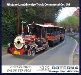 De ongebaande Trein van de Weg van de Toerist met Dieselmotor