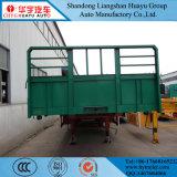 Fabricación Tri-Axle 40 toneladas de panel lateral de la junta de alta carga de la pared lateral semi remolque
