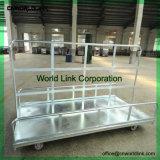 Carrello specifico di trasferimento di uso del magazzino e della fabbrica del caricamento resistente da 1 tonnellata