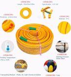 China-Hersteller Fleixble gelbe Belüftung-Hochdruckspray-Schlauchleitung