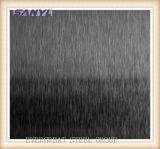 feuille de noir de l'acier inoxydable 201 304