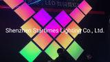 保証5年はDJ装置のChangebleピクセルRGBアドレス指定可能なLEDパネルLEDライトLED照明クリスマスの装飾ライト結婚式の装飾のパネルを上演する