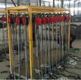 Подниматься электрической тали с цепью 5 тонн материальный