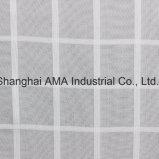 Polyester-Diamant-Gitter-Garn gefärbtes Chiffon- Form-Gewebe 100%