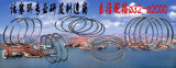 El motor diesel parte el motor diesel refrigerado marina del motor diesel