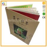 Imprimante faite sur commande d'impression de livre de livre À couverture dure (OEM-GL028)
