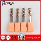 4 flautas Gen-HRC55 Ferramenta de corte de carboneto de Sólidos
