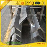 Verdrängter Standardaluminiumstrangpresßling-Winkel für industriellen Aufbau