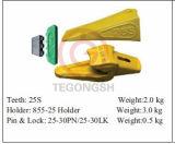конструкция 25s оборудует зубы ведра для землечерек
