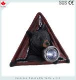 Сада медведя шатра Figurine смолаы самого лучшего продавеца украшение животного солнечное светлое
