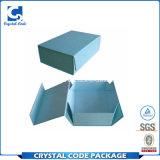 Kundenspezifisches Firmenzeichen gedruckter Kappe-weg überzogenes Papier-Geschenk-Kasten