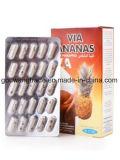 A través de Ananas Extracto Herbal 100% de la pérdida de peso belleza Detox