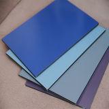 Prédio de revestimento plástico do painel composto de folhas de alumínio