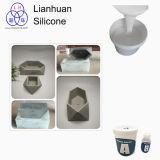 Caucho de silicón líquido RTV-2 para el molde concreto del florero del molde del silicón de DIY
