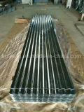 Telha corrugada galvanizada da onda da prova do som/água/incêndio