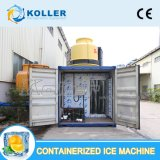 Container, 수산업을%s Containerized Ice Plant에 있는 Prefabricated 5 Tons Flake Ice Machine Fixed