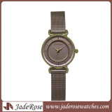 Gouden de manier nam Horloge van de Sporten van het Ontwerp van het Kwarts van de Dames van de Vrouwen van het Horloge van het Merk van de Luxe het Eenvoudige toe