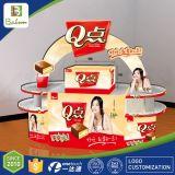 Publicidad de la visualización promocional del soporte para los bocados
