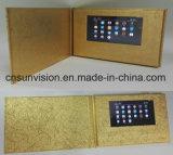 "Fabrik geben 7 "" LCD die Werbungs-Karten-Geschäfts-Video-Broschüre an"