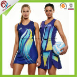 Sublimation Cheap Custom Netball uniform Sublimated Netball jersey Dress