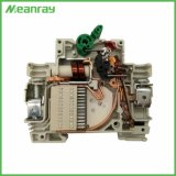 De MiniStroomonderbreker 32A 63A MCB van de Lucht van de niet-Polariteit 1200V MCB gelijkstroom van Meanray Mrll7 PV 440V 550V 1000V