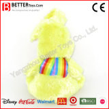 Het Kleurrijke Zachte Konijn ASTM vulde het Dierlijke Stuk speelgoed van de Pluche van het Konijntje voor de Jonge geitjes van de Baby