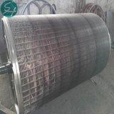 Cilindro de Acero Inoxidable el molde en la máquina de papel