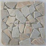 Mozaïek van het Patroon van de Lei van China het Natuurlijke voor de Decoratie van de Muur