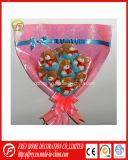 최고 판매 견면 벨벳 연약한 장난감 꽃