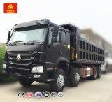 Camion à benne basculante personnalisable de tonnage de Sinotruk 8X4 HOWO 12-Wheel