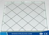 de vidro figurado matizado 6.5mm/prendeu Glasss/vidro modelado/vidro rolado com CE&ISO9001
