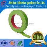 Grado de cinta de enmascarar de auto verde de buena calidad con una muestra gratis de fábrica de China