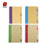 Nuevo cuaderno espiral modificado para requisitos particulares de la promoción del color de la oficina popular de los regalos