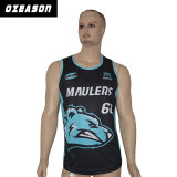 Großhandelsform preiswerte Cusotmized Sublimation-Team-Basketball-Abnützung (BK007)