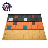 다채로운 돌은 중국에 있는 입히는 강철 루핑 지붕널 제조를 잘게 썬다
