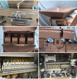 Automatisches Doppeltes geht magnetische Pumpen-flüssige Füllmaschine voran (YG-2)