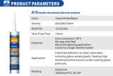 Het waterdichte Zure Dichtingsproduct van het Silicone RTV voor Groot Glas