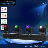 4 Haupt40w LED Träger-bewegliches Hauptstadiums-Stab-Licht