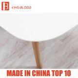 白いカラー庭のための木製のコーヒーテーブルの家具