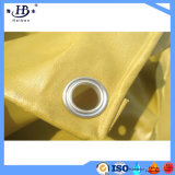 Encerado Ultravioleta-Resistente del carro del PVC con los anillos en D