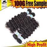 extensions neuves brésiliennes de cheveu de la meilleure pente 10A
