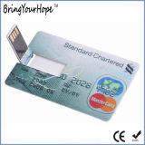 Kreditkarte USB-Blitz-Laufwerk 4GB (XH-USB-012)