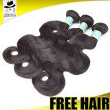 Paquets 100% brésiliens de cheveu d'aperçu gratuit de cheveu de Remy