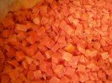 Frais de vente chaude de la récolte de qualité Premium IQF carottes coupées en dés
