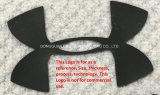 Chapa grossa Silicone etiqueta Acessórios de vestuário de Transferência de Calor