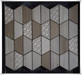 El azulejo de mosaico de mármol del azulejo de suelo de mosaico del arte del mosaico suministra mosaicos del azulejo