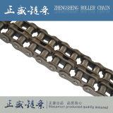 Encadenamiento industrial del rodillo del transportador de la precisión corta de acero triple estándar de la echada