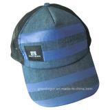 Chapeau populaire de camionneur de denim avec le réseau mou